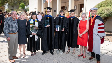 Occidental faculty were hon要么ed at the College's 2019 Convocation ceremony.